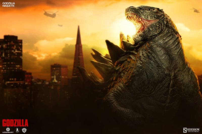 Sideshow - Maquette - Godzilla Godzil18