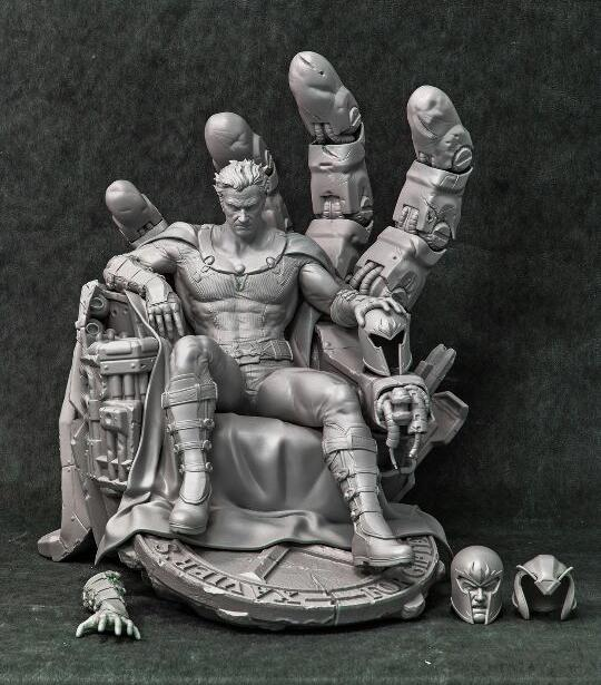 Premium Collectibles : Magneto on Sentinel Throne - Page 2 Mag_zp10