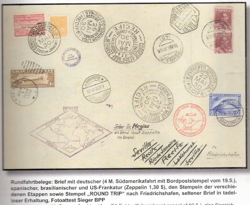 """Südamerikafahrt 1930 (Rundfahrt-) Post nach Friedrichshafen"""" - Seite 5 Kahler10"""
