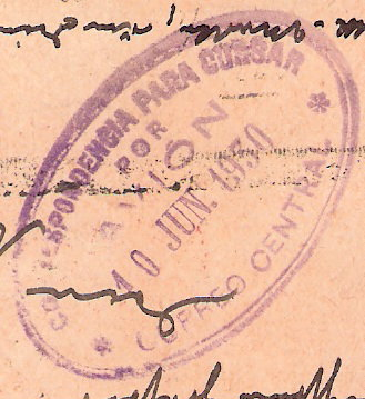 """Südamerikafahrt 1930 (Rundfahrt-) Post nach Friedrichshafen"""" - Seite 4 Scanne14"""