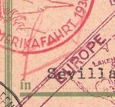 """Südamerikafahrt 1930 (Rundfahrt-) Post nach Friedrichshafen"""" - Seite 4 Scanne15"""