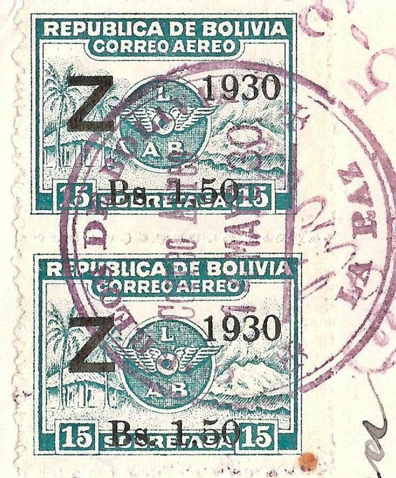 """Südamerikafahrt 1930 (Rundfahrt-) Post nach Friedrichshafen"""" - Seite 5 Scanne18"""