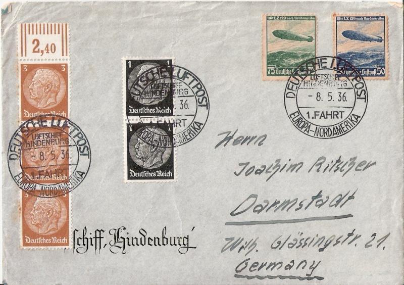 Zeppelinpost des LZ 129 - Seite 3 Scanne21