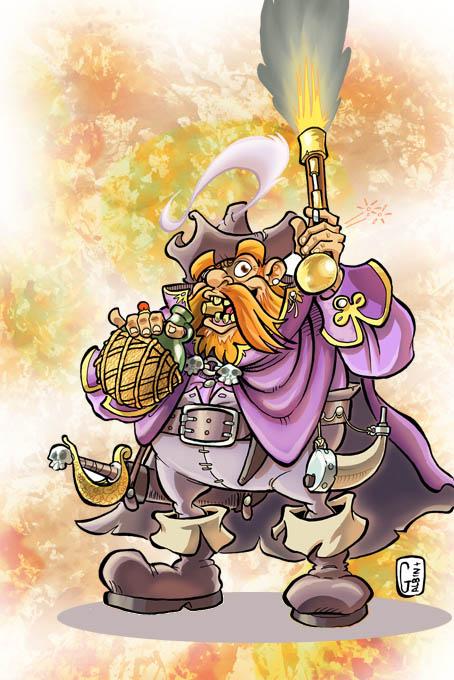 Extension de métier : le Pirate Capita10