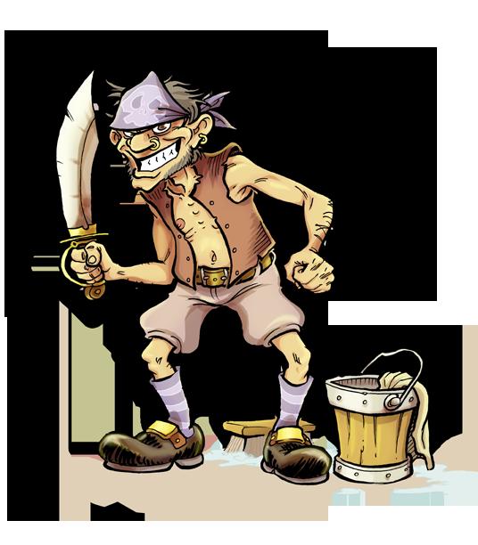 Extension de métier : le Pirate Pirate10