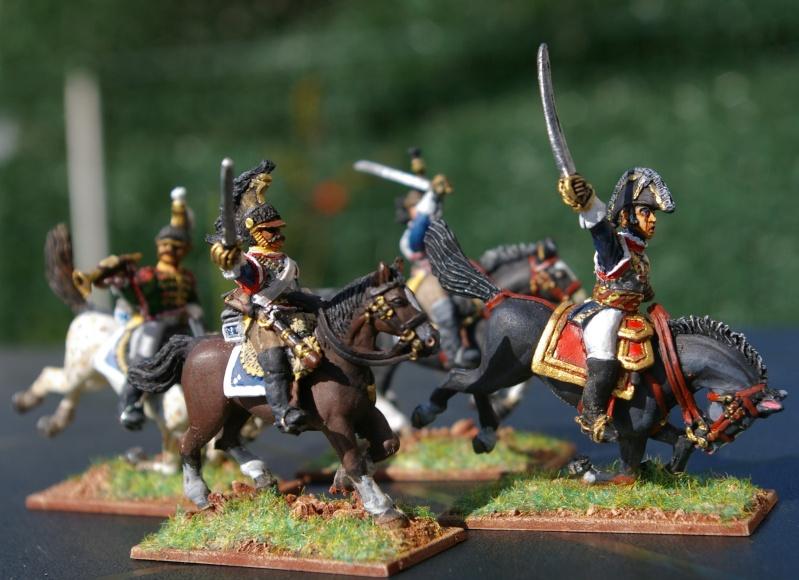 LES CUIRASSIERS  chargent a la bataille  QUATRE- BRAS Cuiras12