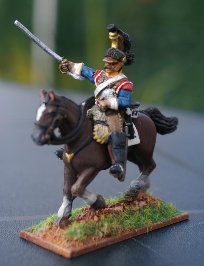 LES CUIRASSIERS  chargent a la bataille  QUATRE- BRAS Cuiras15