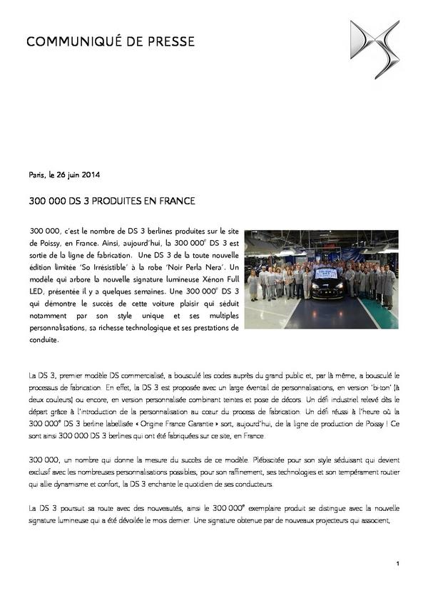 [SUJET OFFICIEL] Citroën DS3 [A55] - Page 41 110