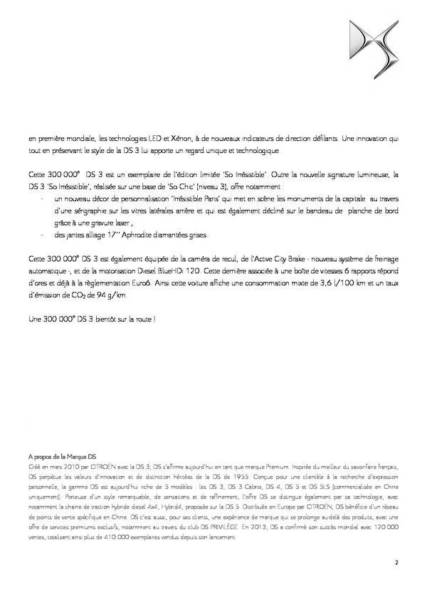 [SUJET OFFICIEL] Citroën DS3 [A55] - Page 41 210