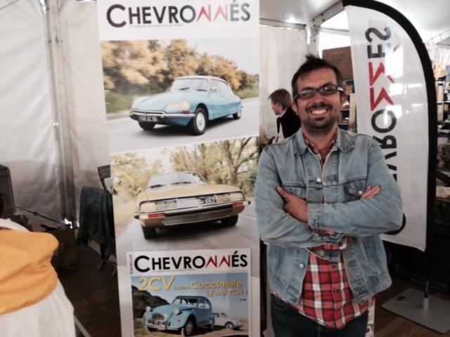 [PRESSE] Nouvelle revue dédiée à Citroën - Chevronnés - Page 3 Photo274
