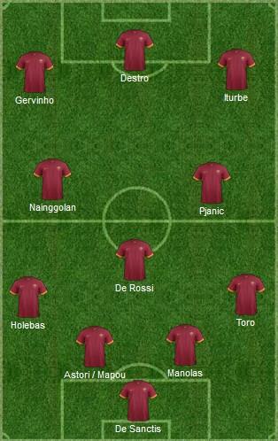 AS Roma 2-0 Cesena ( 9ème journée )  - Page 2 Sans_t39