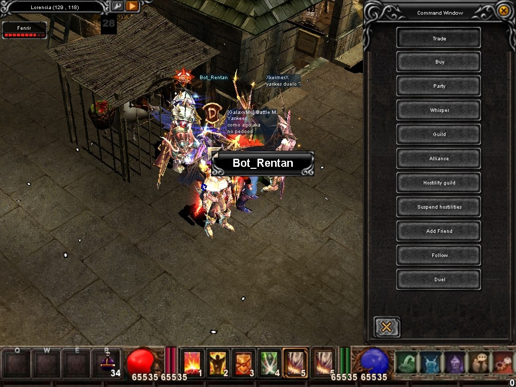 Como usar el Bot_Reintar (Alquimista) Mu Warzone s6 epi 3.5 Screen14