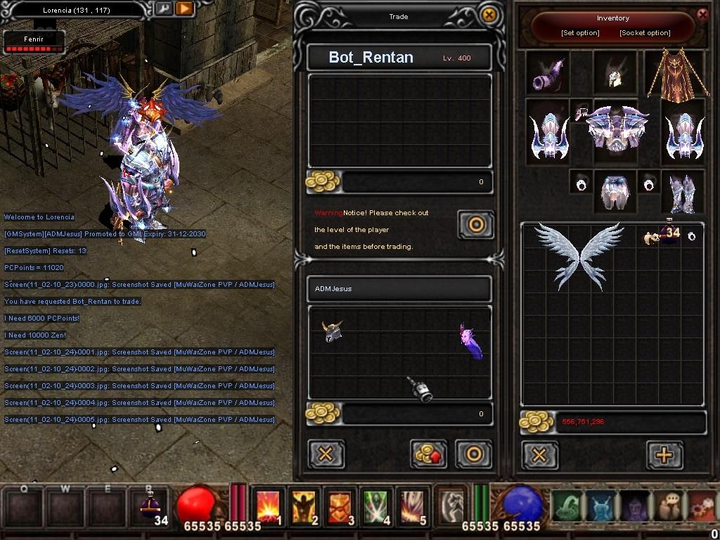 Como usar el Bot_Reintar (Alquimista) Mu Warzone s6 epi 3.5 Screen18
