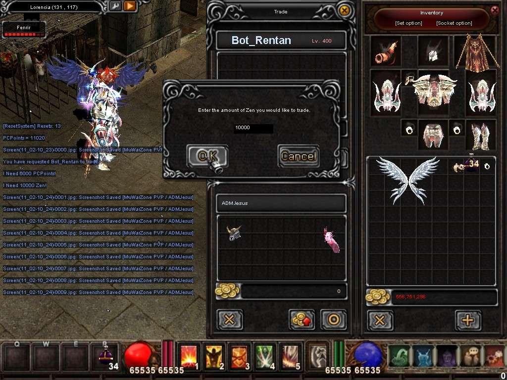 Como usar el Bot_Reintar (Alquimista) Mu Warzone s6 epi 3.5 Screen19