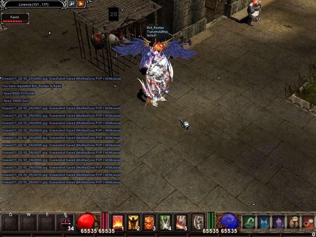 Como usar el Bot_Reintar (Alquimista) Mu Warzone s6 epi 3.5 Screen20