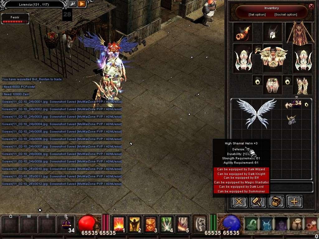 Como usar el Bot_Reintar (Alquimista) Mu Warzone s6 epi 3.5 Screen21