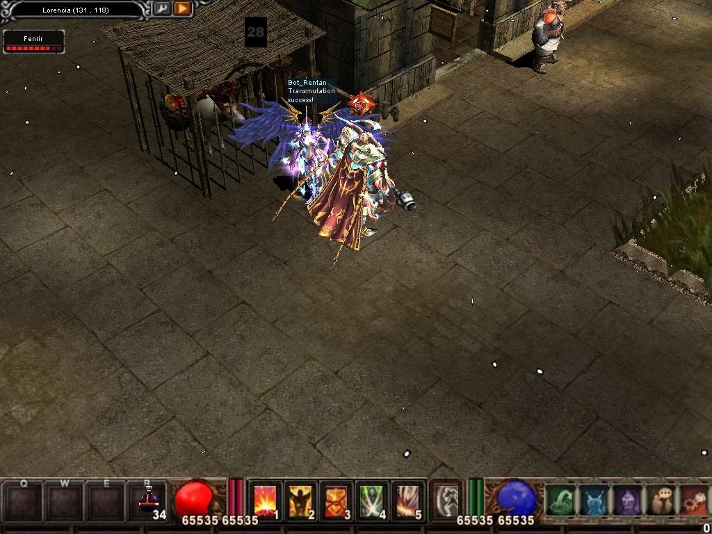Como usar el Bot_Reintar (Alquimista) Mu Warzone s6 epi 3.5 Screen22