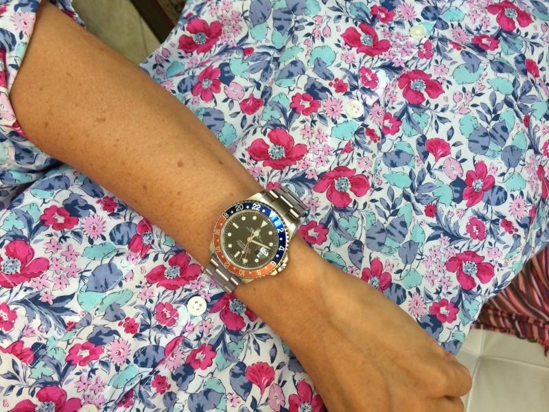 Ma 1ère montre... GMT pour poignet femme Photo511