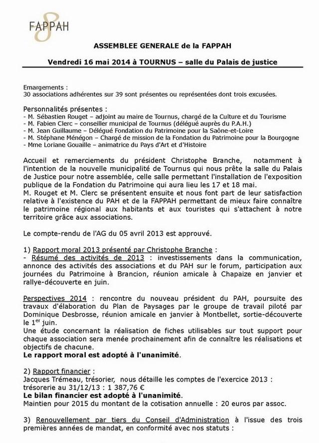 Compte-rendu de l'AG de la FAPPAH  2014  001_co12