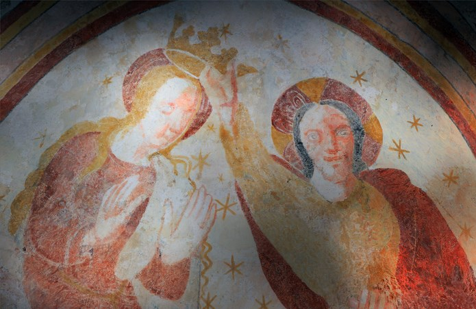 Inauguration de la peinture murale Eglise de la Chapelle-sous-Brancion  00313