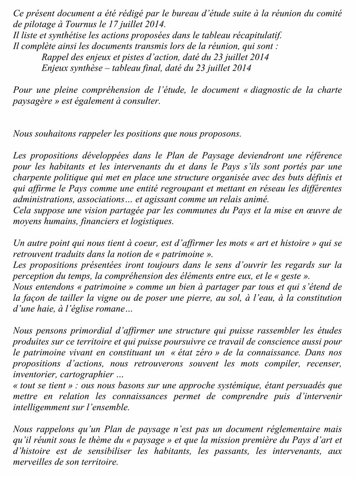 PLAN de PAYSAGE (ACTIONS) document d'études 1-1_co10
