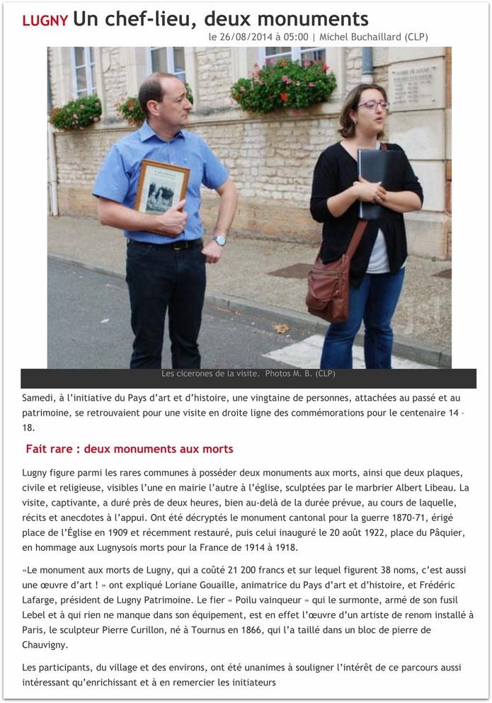 Deux monuments aux morts à Lugny  1_copi12