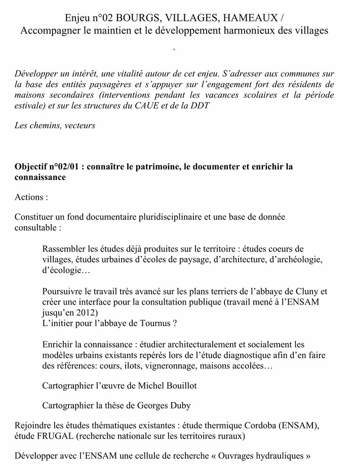 PLAN de PAYSAGE (ACTIONS) document d'études 4-1_co10