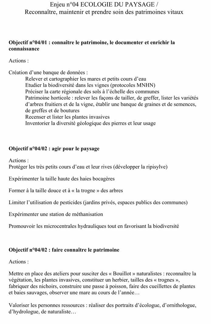 PLAN de PAYSAGE (ACTIONS) document d'études 9-1_co10
