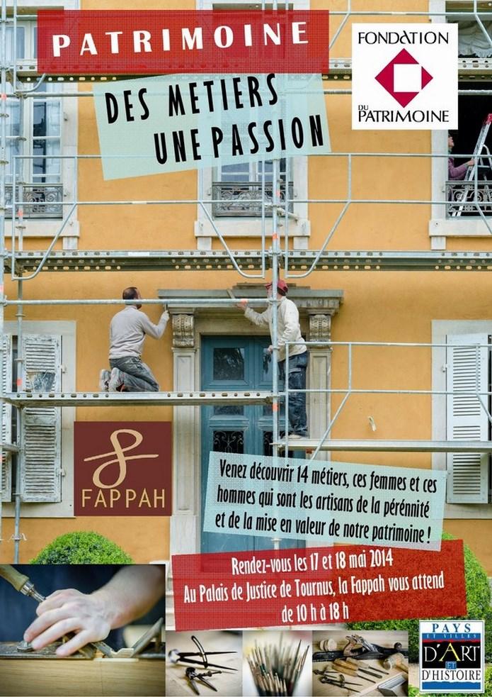 2014 La Fappah a tenu son assemblée générale vendredi 16 mai au palais de justice et exposition DES MÉTIERS UNE PASSION Affich10