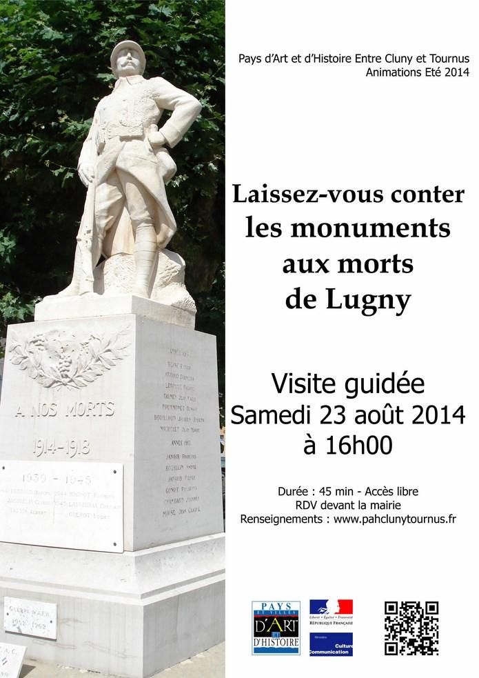 Deux monuments aux morts à Lugny  Affich15