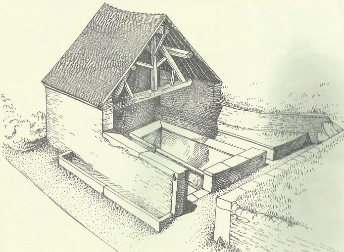 Le grand lavoir de la Combe  à Nogent N°2 Lavoir11