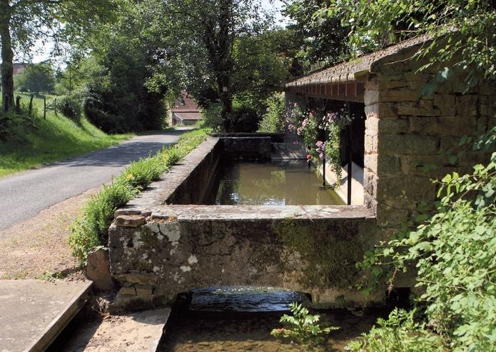 Le lavoir de Naiguère  à La Chapelle N°5 Lavoir13