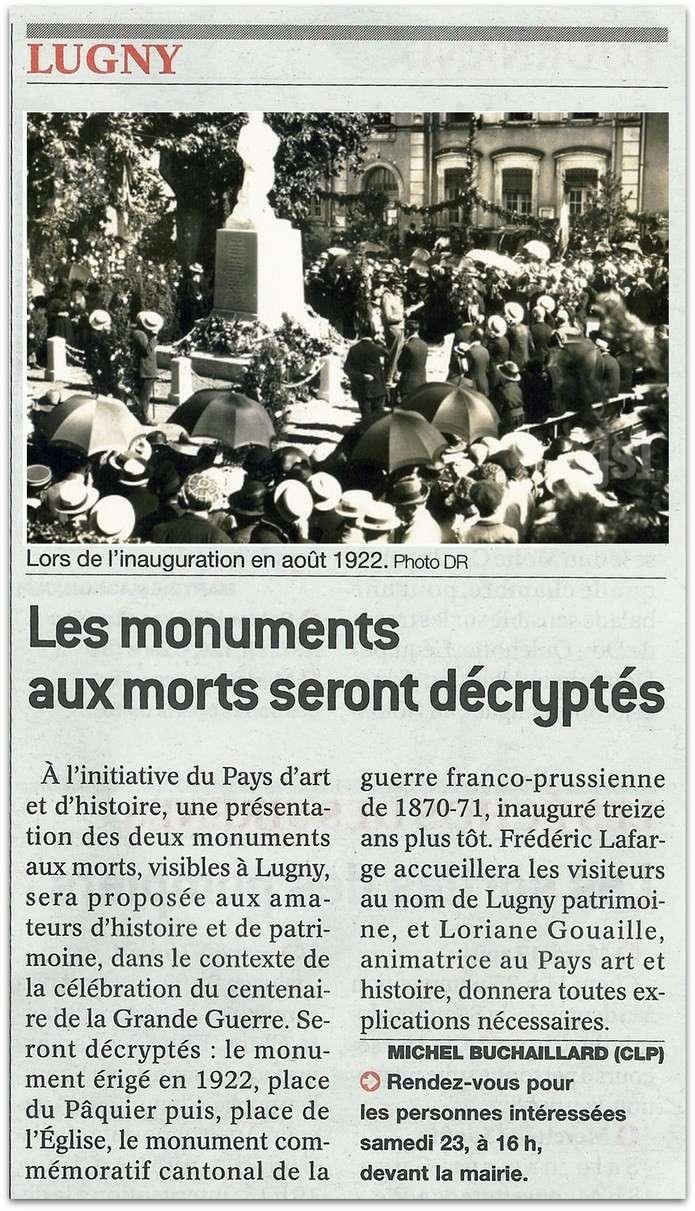 Deux monuments aux morts à Lugny  Lugny_24
