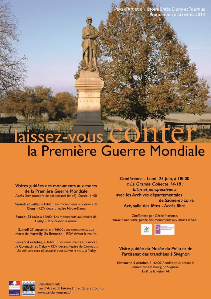 Deux monuments aux morts à Lugny  Pah_af10