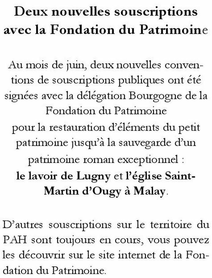 Newsletter du PAH N° 20 Souscr10