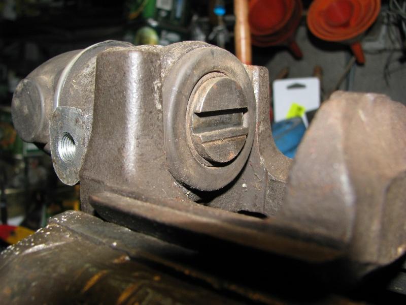 Changement plaquettes frein arrière 215