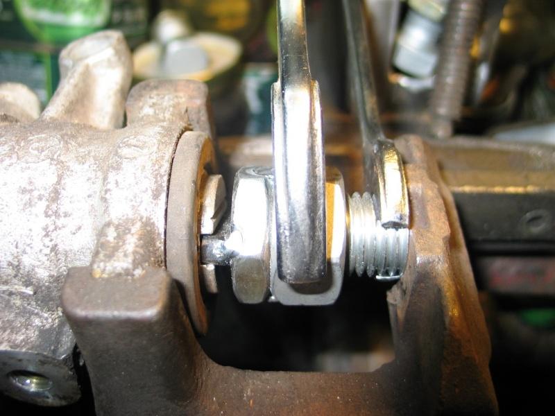 Changement plaquettes frein arrière 317