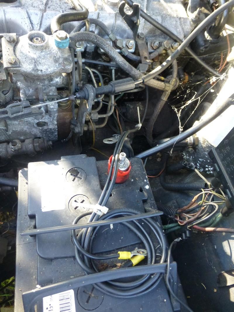 plus de préchauffage sur une r25 turbo d camargue 3_80010