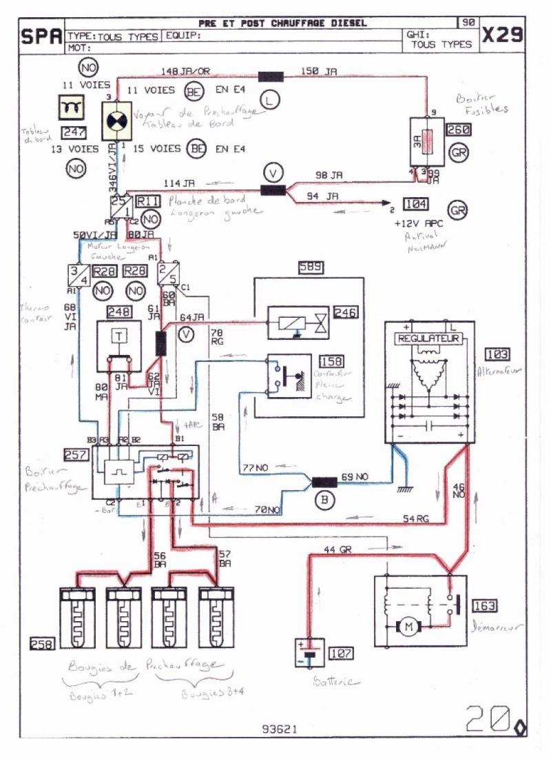 plus de préchauffage sur une r25 turbo d camargue 5_102412