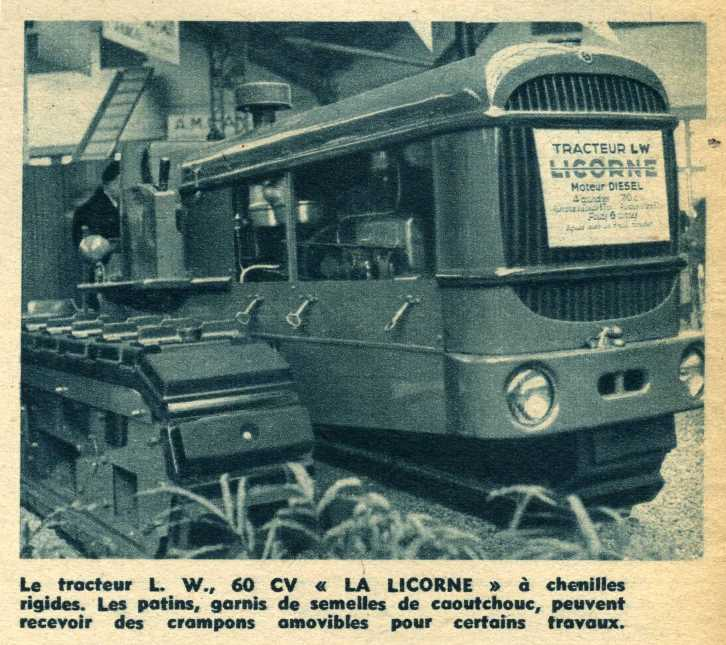 Tracteur LW de la Licorne : photos du seul rescapé connu Img29310