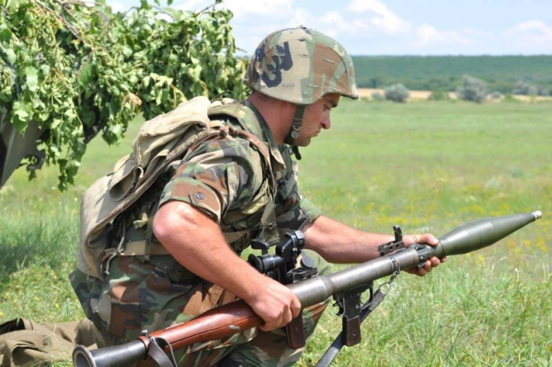 Forces armées moldaves 1060