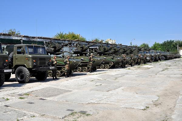 Forces armées moldaves 1287
