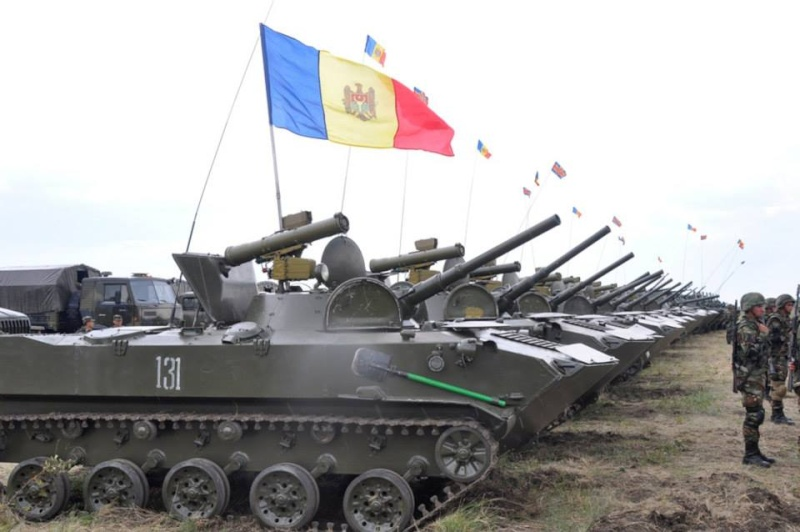 Forces armées moldaves 161