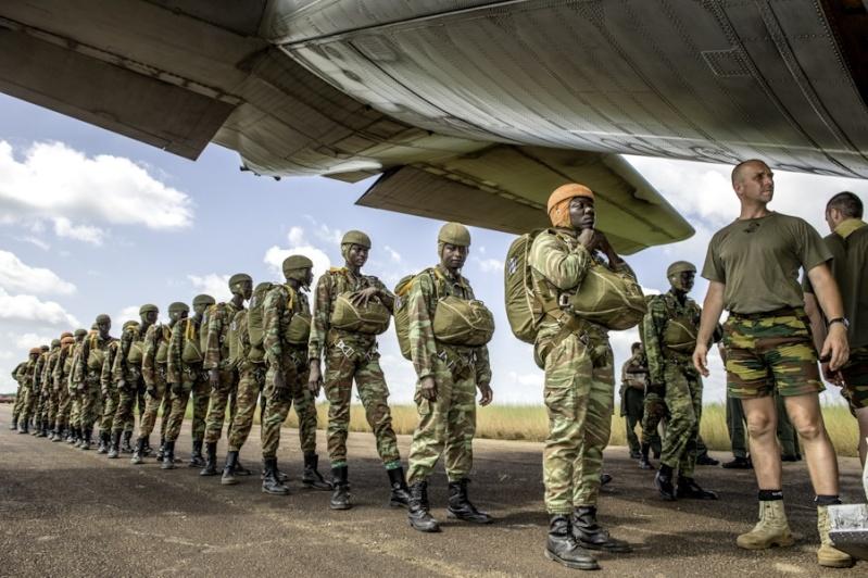 L'Armée du Bénin 2357