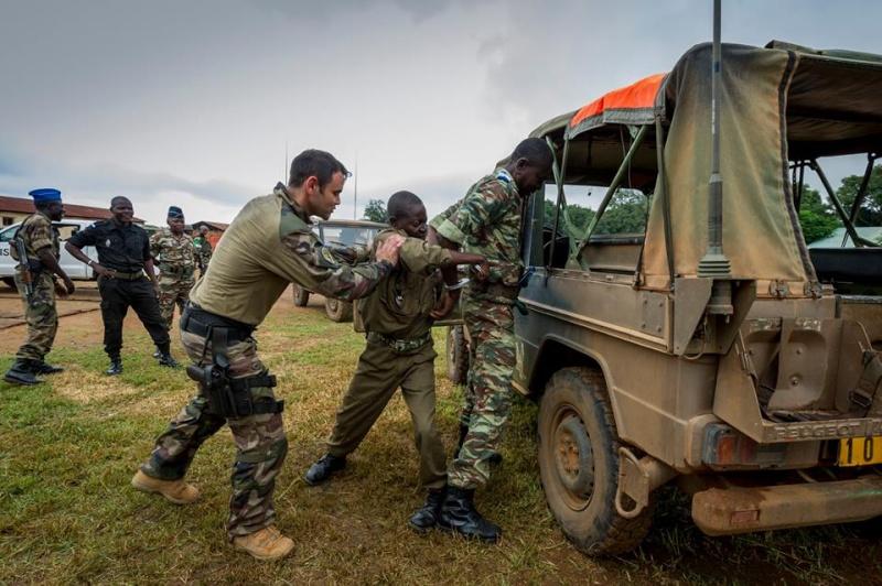 Armées de la République centrafricaine  7218