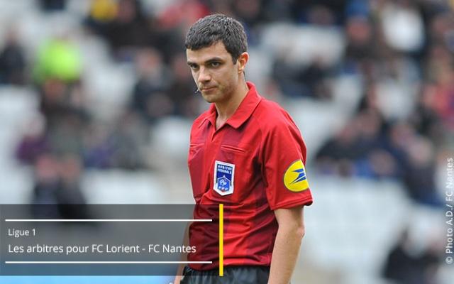 FC Lorient - FC Nantes  19ème journée de Ligue 1 - Samedi 20 décembre 2014, 20h00 - Stade du Moustoir Arbitr15