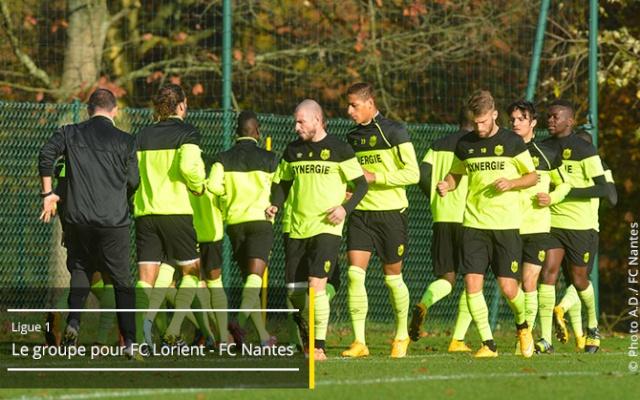 FC Lorient - FC Nantes  19ème journée de Ligue 1 - Samedi 20 décembre 2014, 20h00 - Stade du Moustoir Groupe14