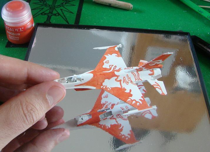 "RNLAF F-16 ""solo display team"" [Revell - 1/144] Dsc00134"