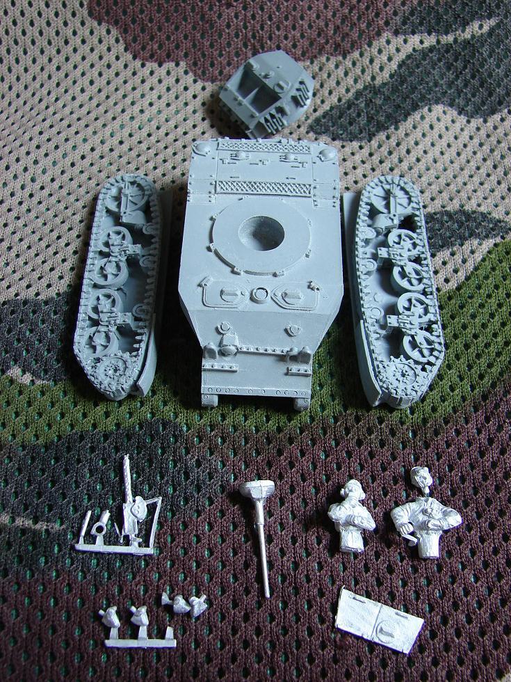 M5A1 Stuart [Warlord games/Bolt Action - 28mm] Dsc01421