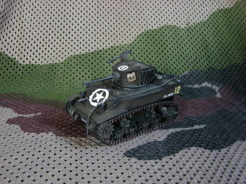 M5A1 Stuart [Warlord games/Bolt Action - 28mm] Dsc01430